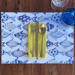 24 Disposable Placemats | Something Fishy