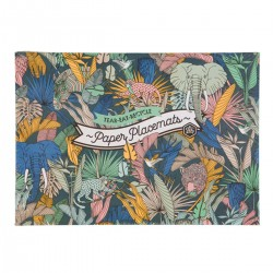 48 Disposable Placemats | Wild at Heart Range