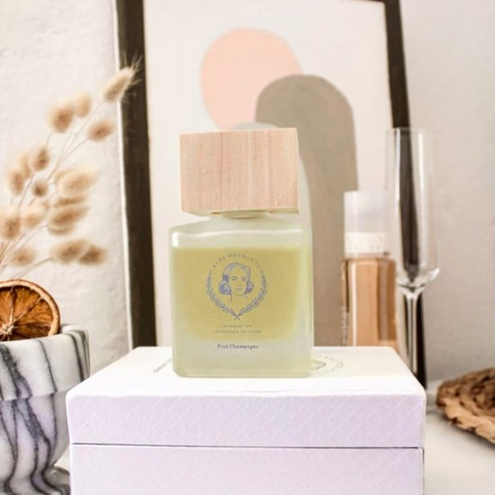 160ml Wooden Top Fragrance Diffuser | Champagne