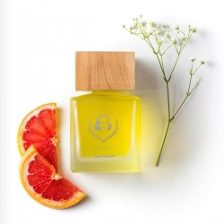 160ml Wooden Top Fragrance Diffuser | Sugared Grapefruit