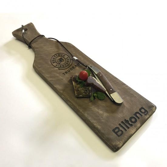 Biltong Baguette Board with Knife