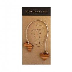 Africa Heart Bookmark