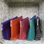 Shweshwe Zip Bags