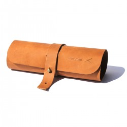 Tan Leather Rollup | Cables