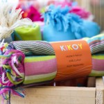 100% Cotton KIKOYS | Pink, Blue or Green