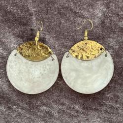 Marble Moons | Earrings