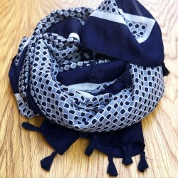 Scarf   Nice and Navy