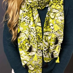 Scarf   Wild Lime