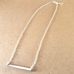 Side Strung Charm on Chain
