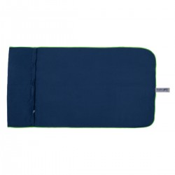 Microfibre | Gym Towel | Navy and Lime
