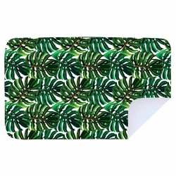 Beach Towel | XL | Green Leaves