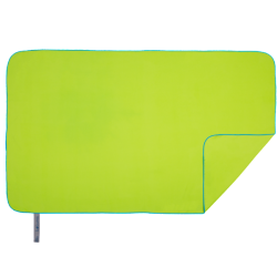 Quick Dry Towel | L | Lime & Turquoise