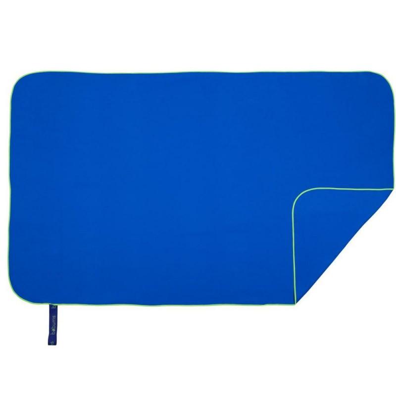 Quick Dry Towel | L | Royal Blue & Yellow