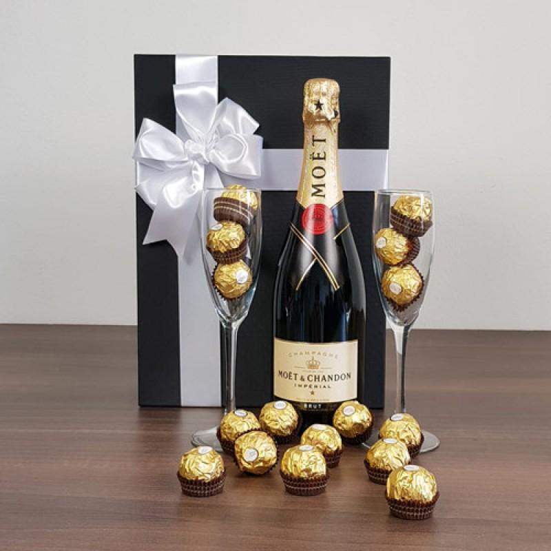 French Duo | Moet & Ferrero Rocher Box