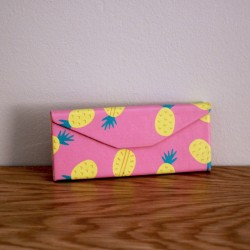 Stand Tall Like a Pineapple Glasses Case