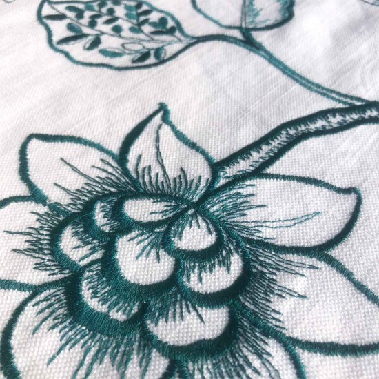 Tablecloth | Cotton | Embroidered Floral