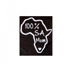 100% SA Mom | VINYL STICKER
