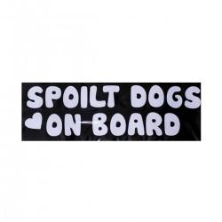 Spoilt Dogs   VINYL STICKER