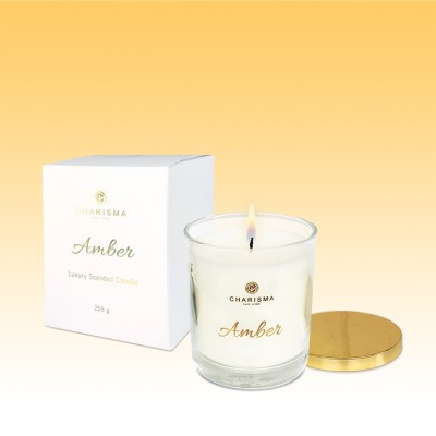 Amber Glass Candle | 255g