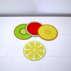 Tropical Party Coasters