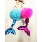 A Mermaid Tail  Key Chain