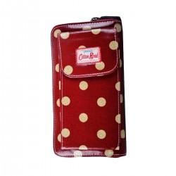 Waterproof Cellphone Pouch   Polka Dots