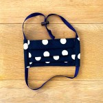 Navy Polka & Floral | Reversible Cotton Masks
