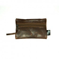 Large Cellphone Pouch | Leather