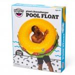 Giant Cheeseburger Pool Float