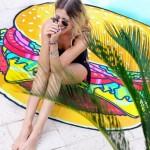Beach Towel | Burger