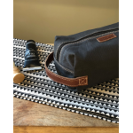 Canvas Men's Toiletry | Charcoal