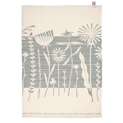 Tea Towel | Summer Weeds | Forget me not