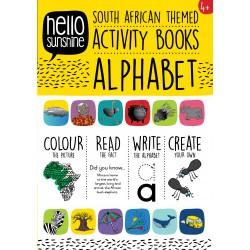 SA Activity Colouring Book | Alphabet