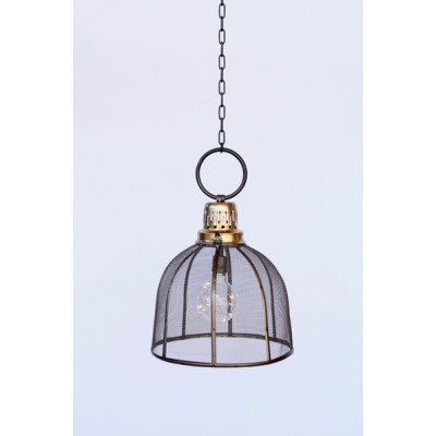 Battery Operated Mesh Hanging Lamp