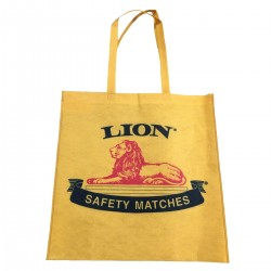 Recycled Plastic Tote Bag   Lion