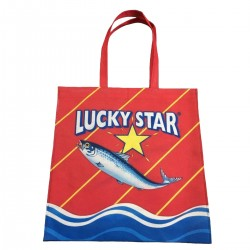 Recycled Plastic Tote Bag   Lucky Star
