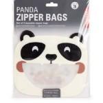 Panda Zipper Bags