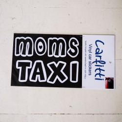 Moms Taxi | VINYL STICKER
