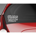 Car Sticker   GRANS TAXI