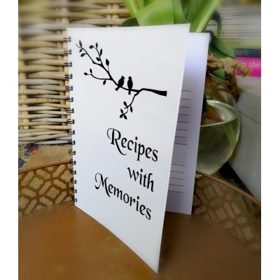 Recipe's with Memories - Book 20 pages