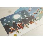 ELF North Pole Sticker Set