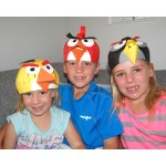 Hungry Birds Hats (Makes 3)