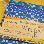 Set of 3 BEESWAX WRAPS | Blue