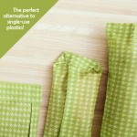 Set of 3 BEESWAX WRAPS | Green
