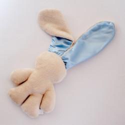 Caramel Snuggle Bunny | Blue Ears