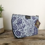 Makeup Bag | Boho Indigo Mint