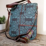 Patchy Bag | Flower Mud Turq