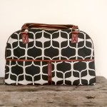 Zanzibar Travel Bag | Graphic Black