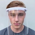 Clear Face Protective Shield   Anti-Fog