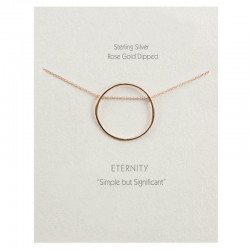 Eternity Necklace | Rose Gold